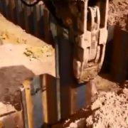 مقابله با فشار جانبی خاک با استفاده از شیت پایل ها
