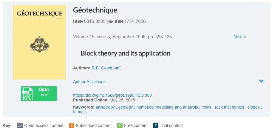 نظریه بلوک و کاربرد های آن