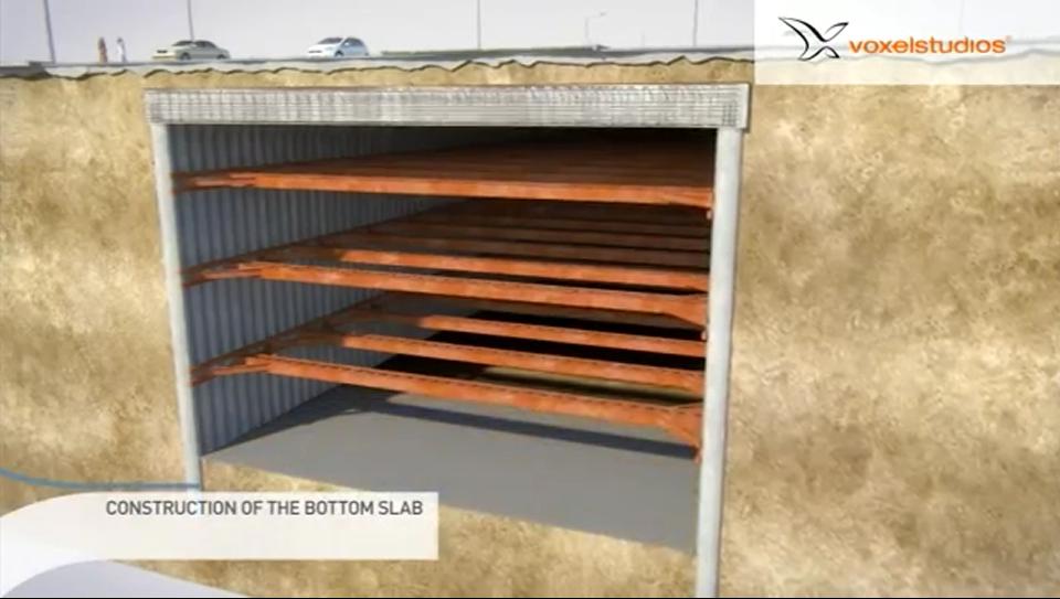استفاده از سیستم ساخت بالا به پایین در پروژه راه آهن یک پارچه قطر