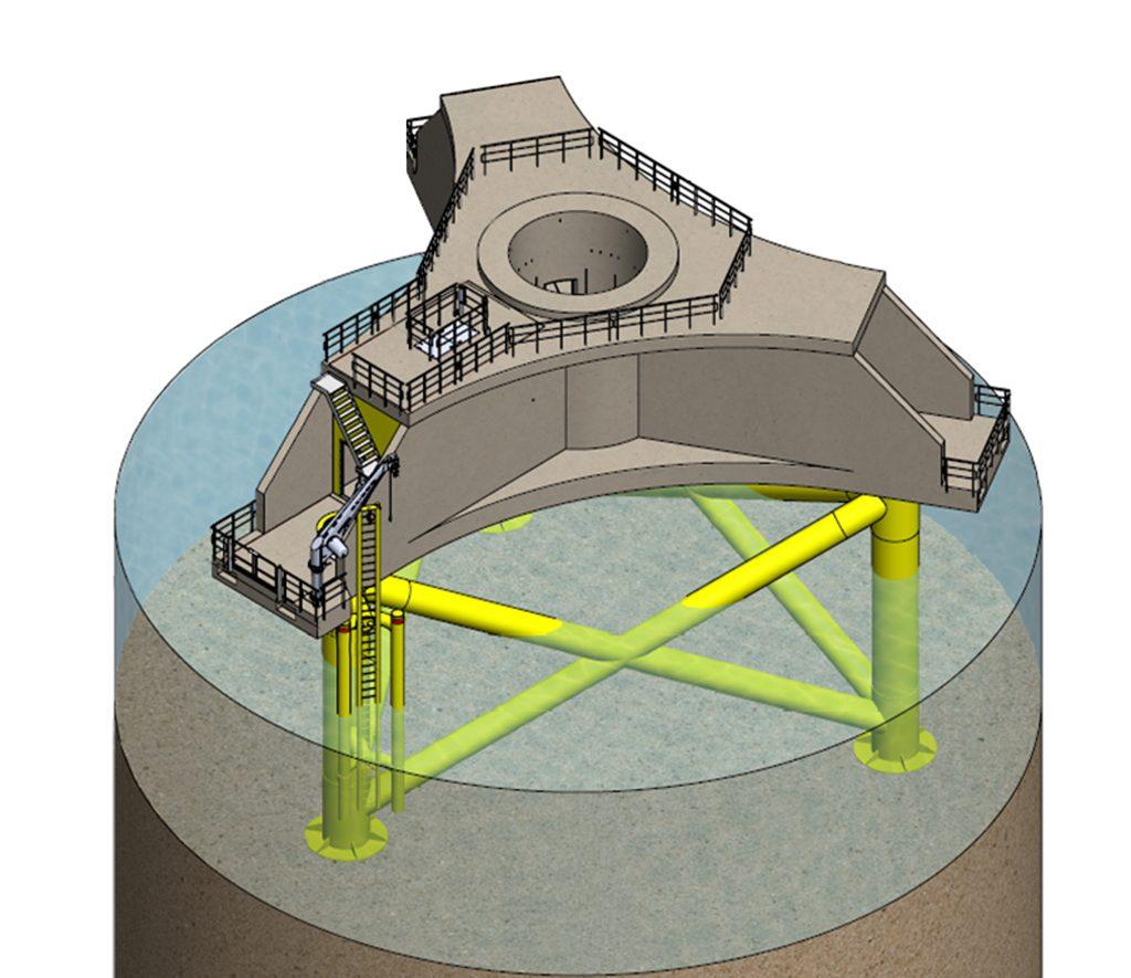 ساخت پی توربین های بادی  Nissum Bredning Offshore Wind Farm